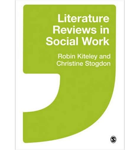 Social work literature review example